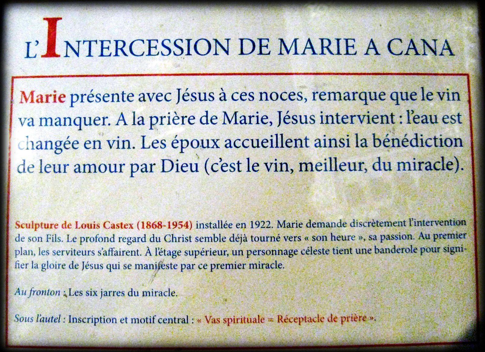 """Vitrail """"Marie Reine des Apôtres"""", basilique de Fourvière"""