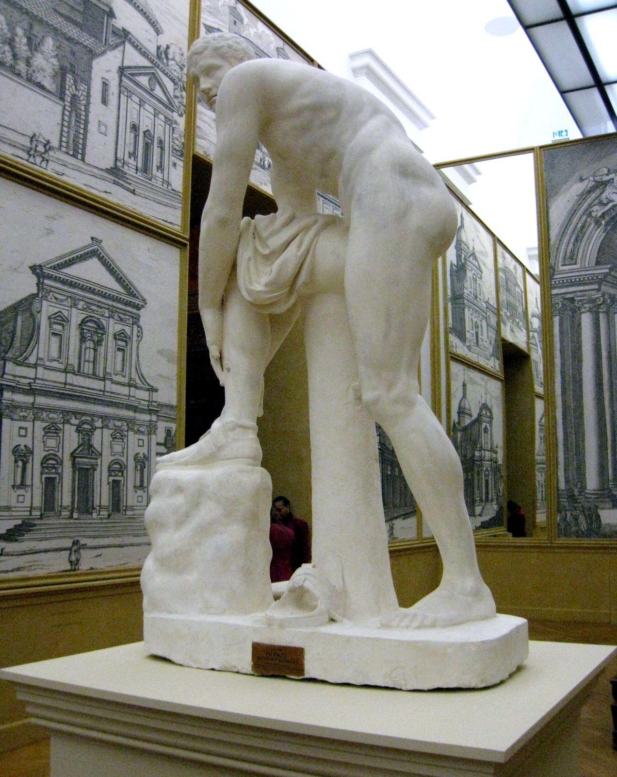 Hermès à la sandale dit Cincinnatus (sculpture), Petit Palais