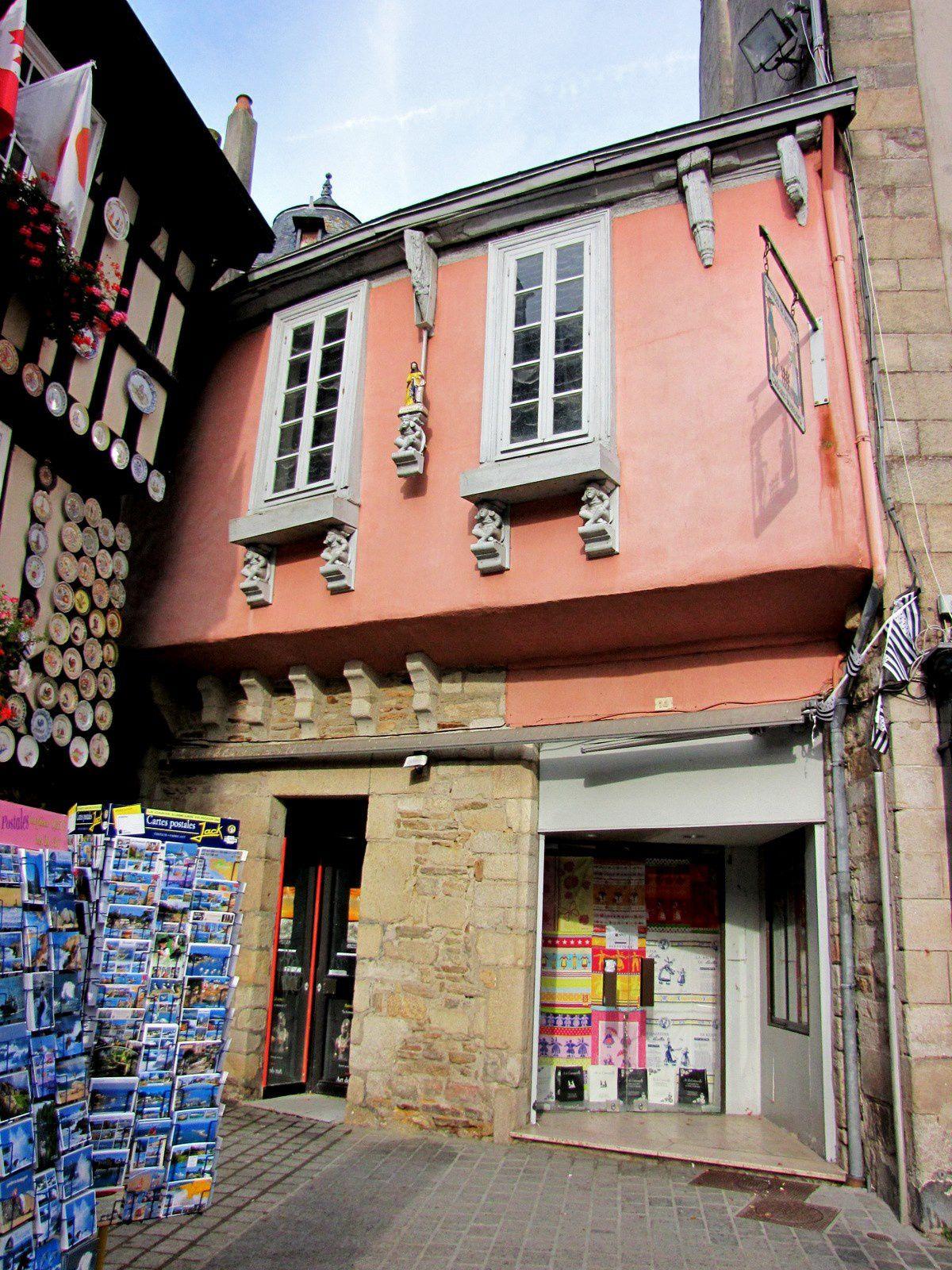 Maisons à encorbellements, Quimper (Finistère)