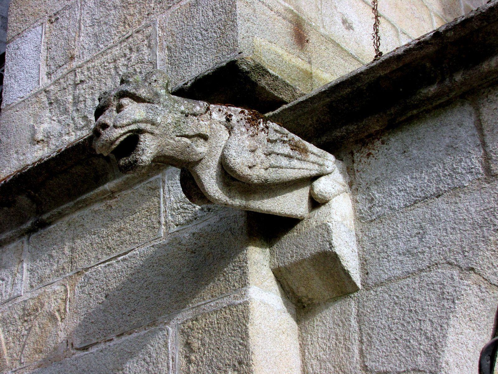 Portail sainte Catherine de la cathédrale de Quimper
