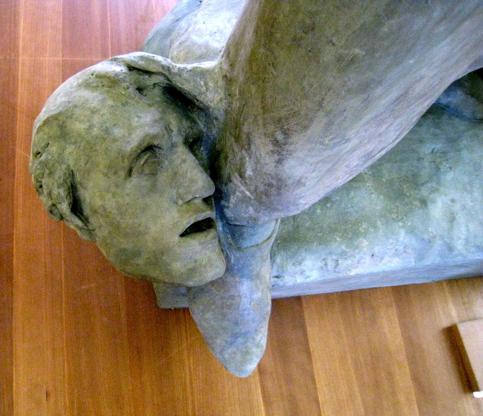 Dante, sculpture de Jean-Paul Aubé