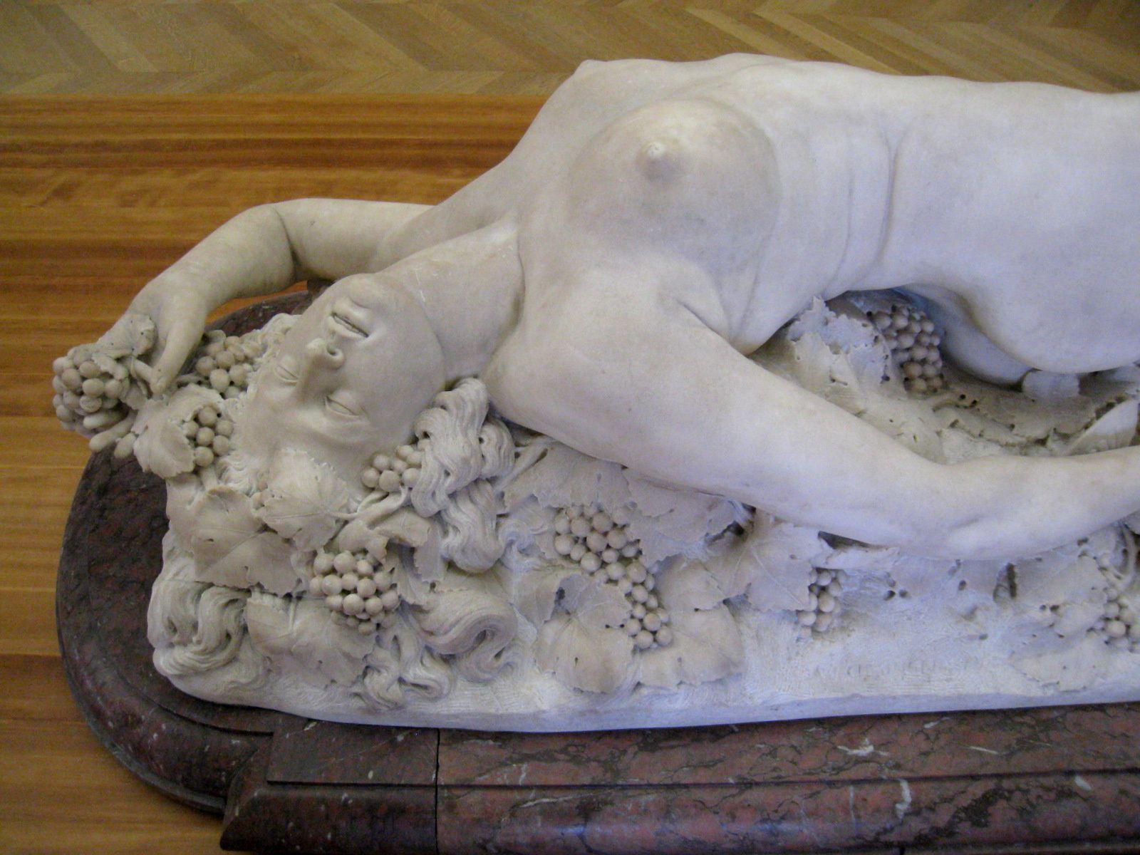 Bacchante, sculpture de Auguste Clesinger