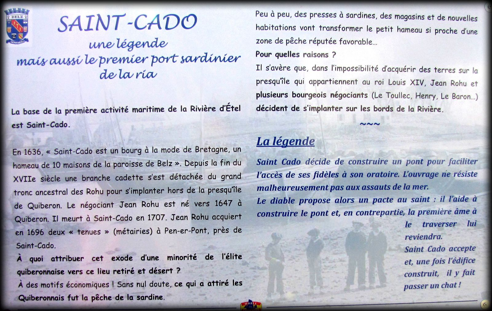 La maison de l'îlot de Nichtarguer, Saint-Cado
