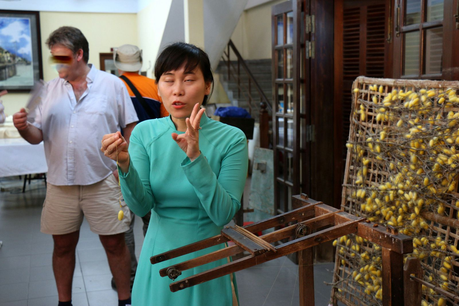 Fabrique d'articles en soie Thang Loi, Hôi An