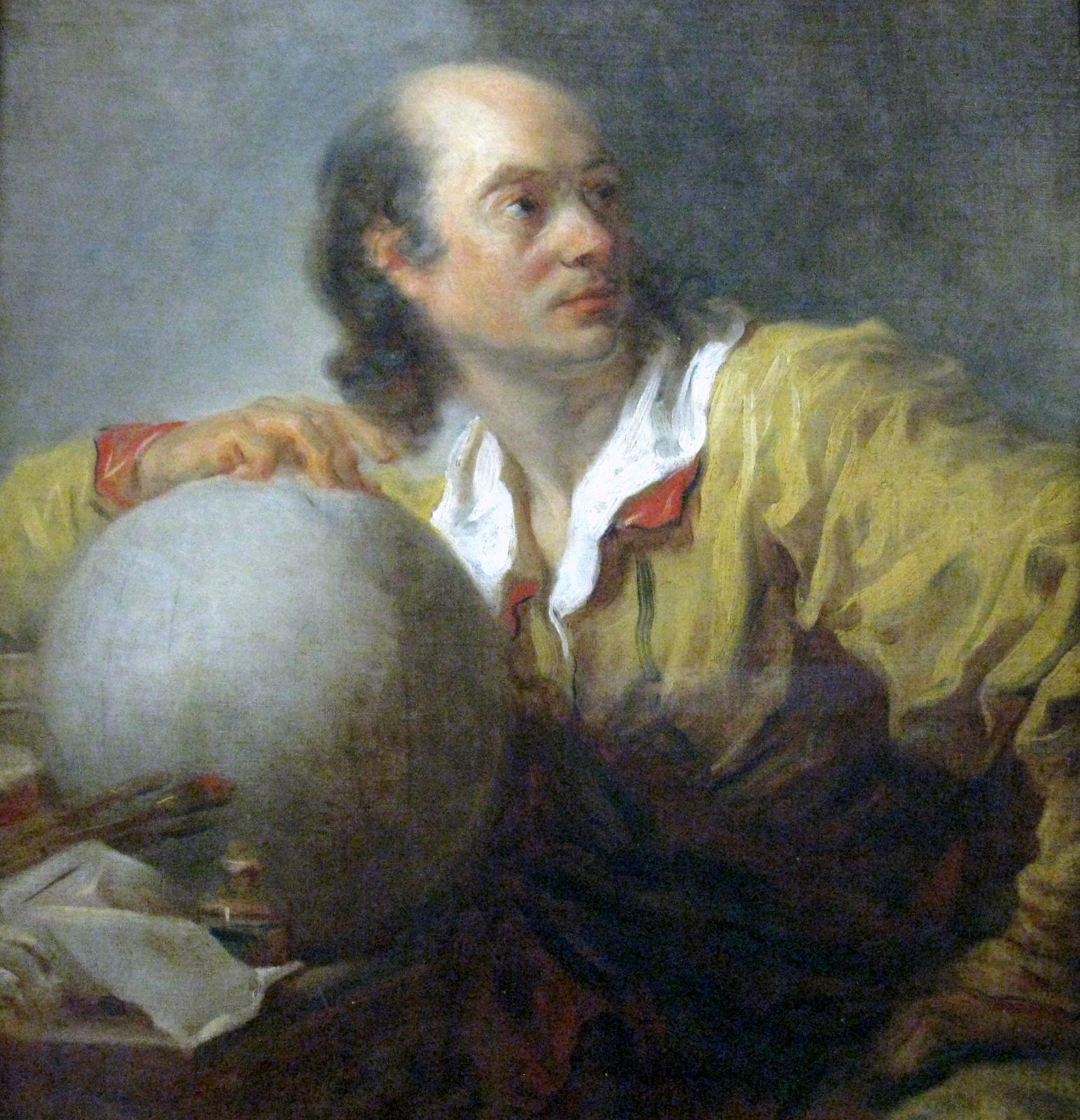 Portrait de Joseph-Jérôme Lefrançois de Lalande par Fragonard