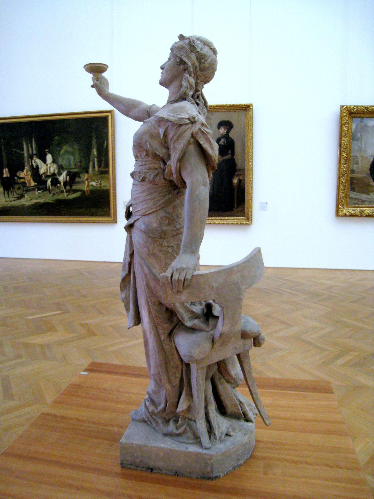 Le Toast, sculpture de Jean-Antoine-Marie Idrac et Jules-Félix Coutan