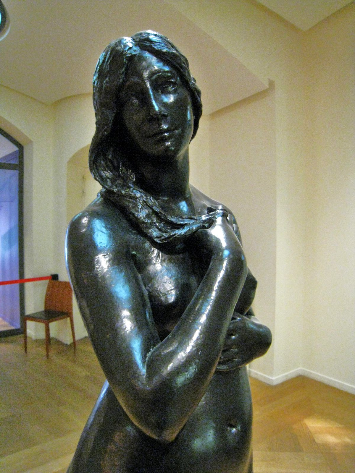Eve naissante, sculpture de Paul Dubois