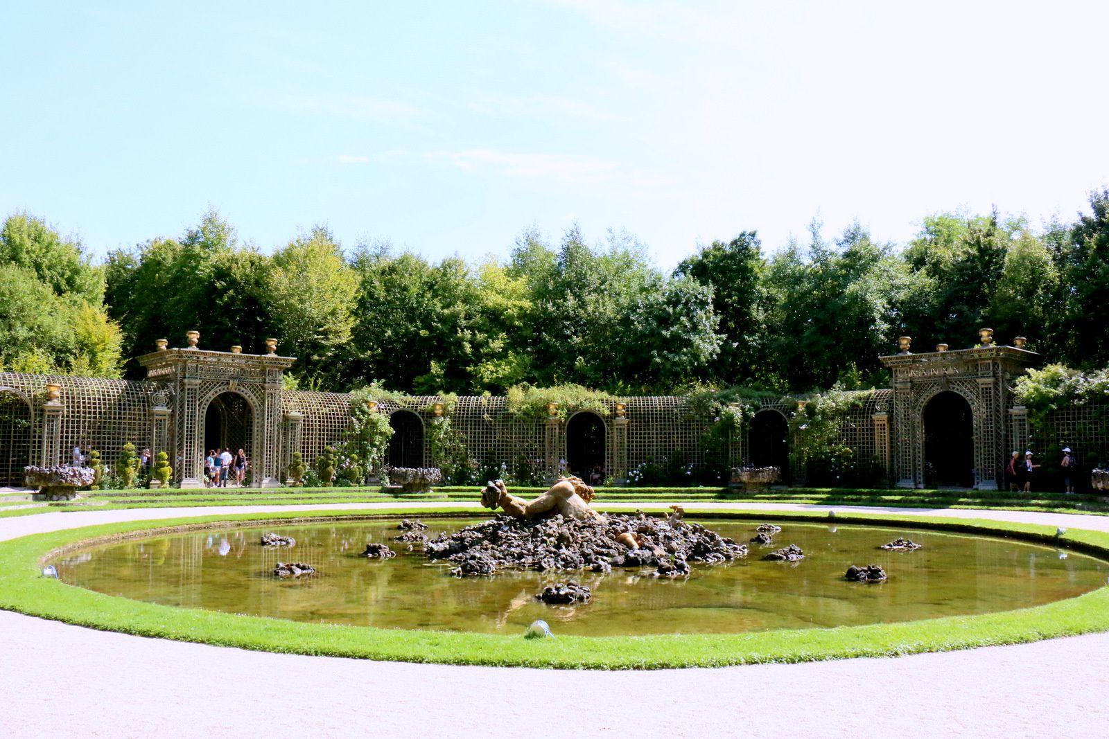 Bosquet de l'Encelade, jardins du château de Versailles