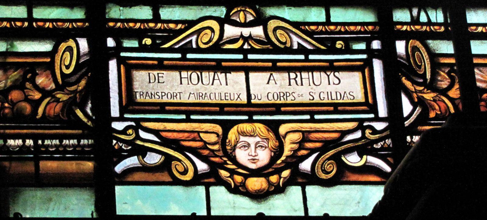 Vitraux de l'église Saint-Gildas, Auray