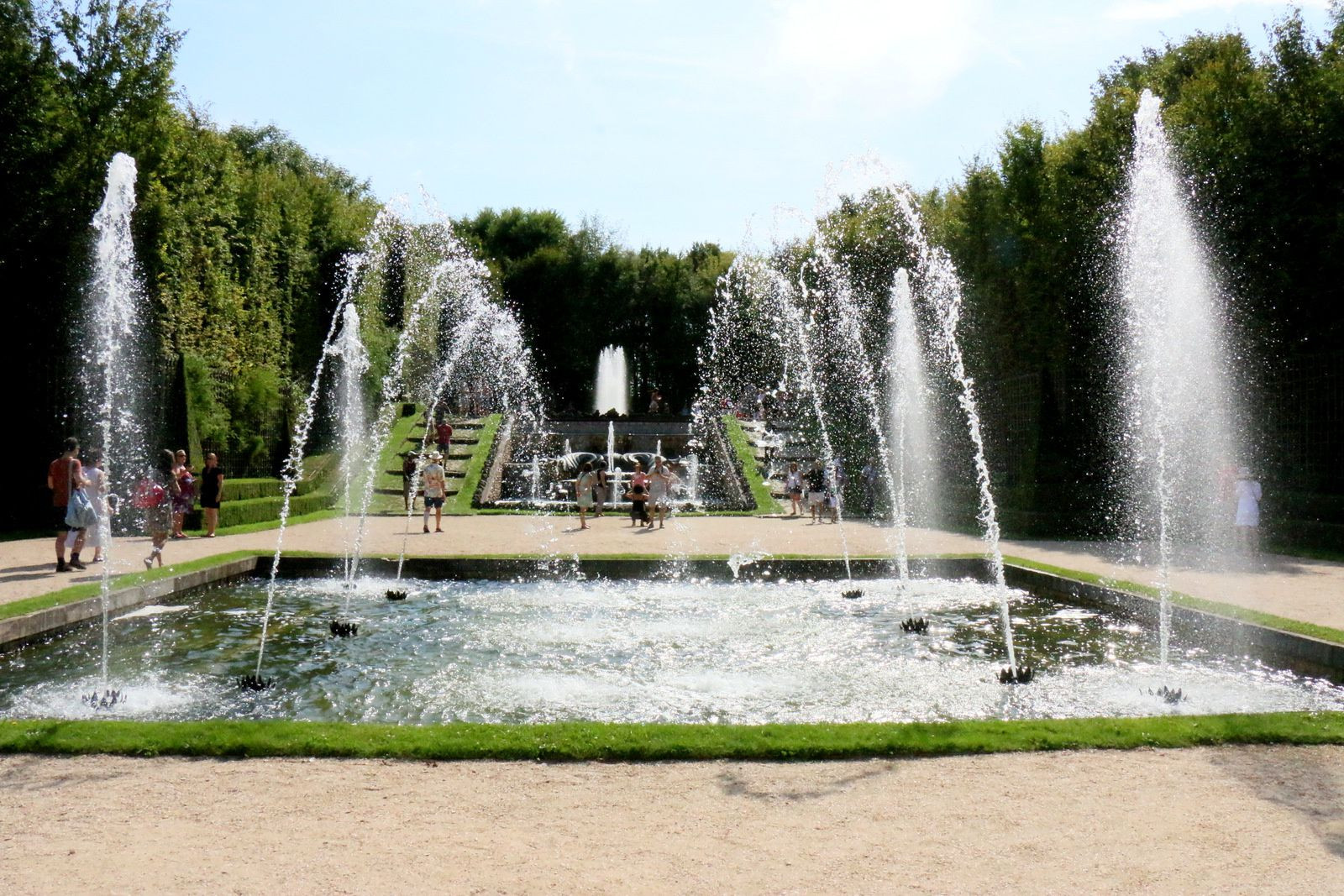 Bosquet des trois fontaines,  jardins du château de Versailles