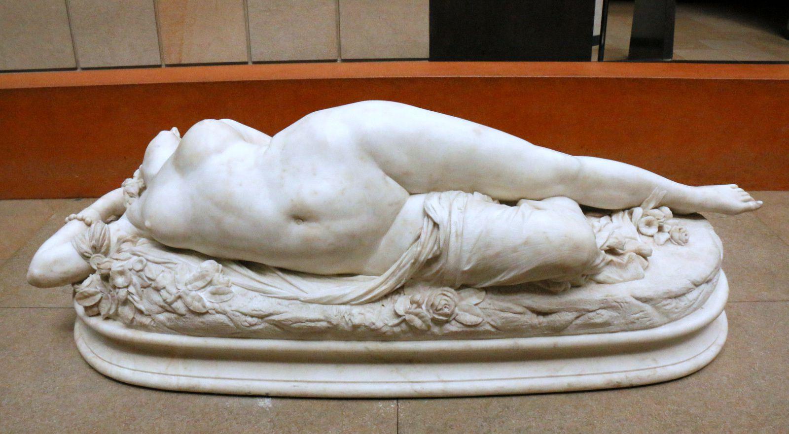 Femme piquée par un serpent, sculpture d'Auguste Clésinger