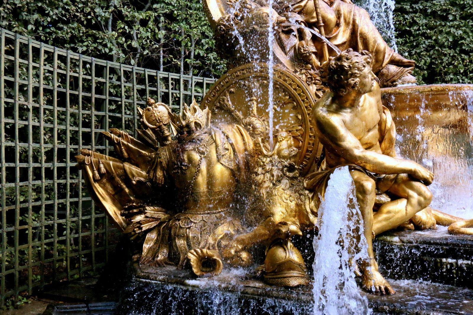 Bosquet de l'Arc de Triomphe,  jardins du Château de Versailles