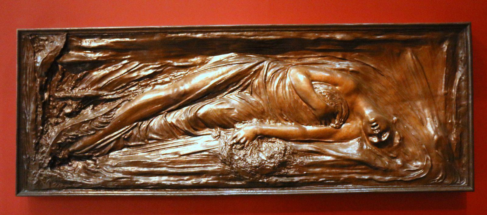 Ophélie, sculpture d'Auguste Préault