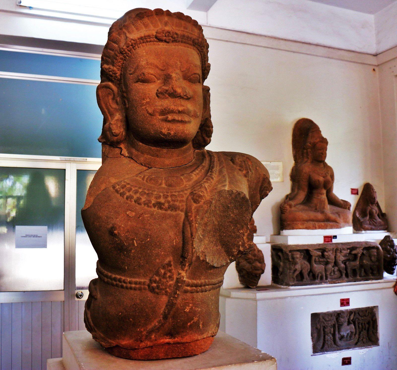 Le dieu Siva, musée de la sculpture Cham