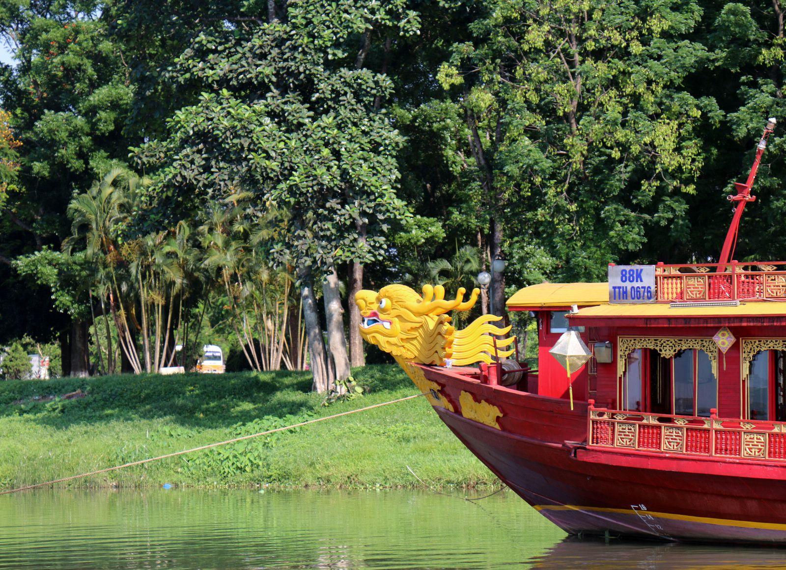 La rivière des Parfums, Hué (Vietnam)