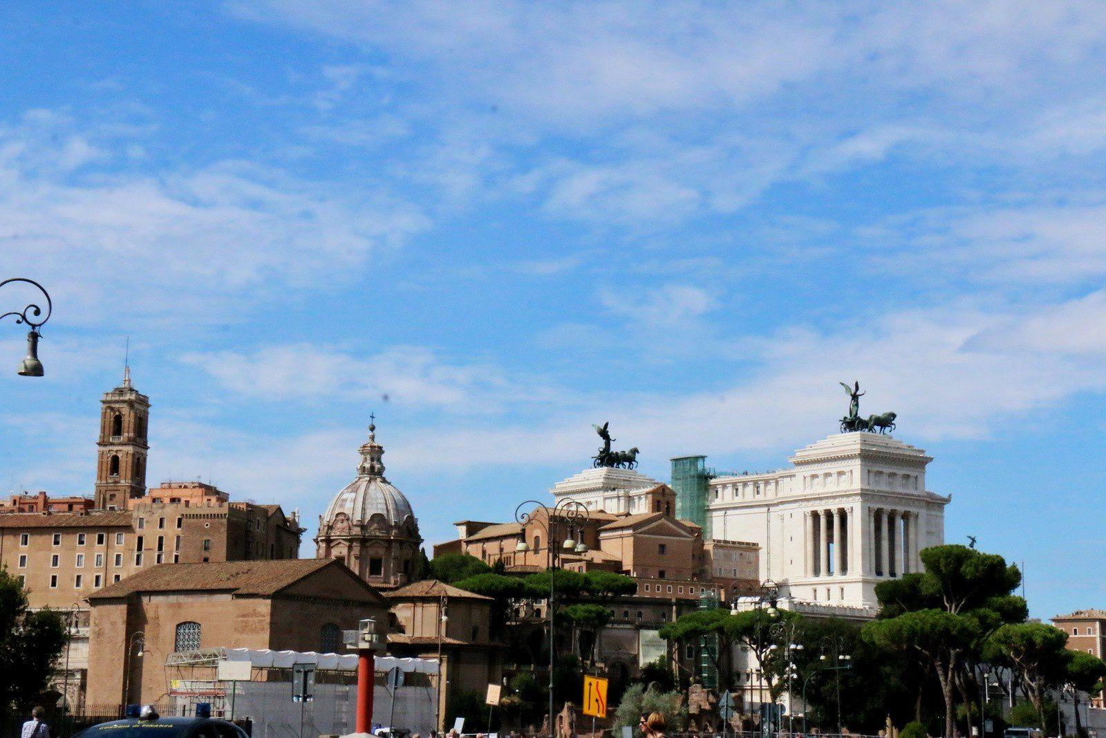 Les quadriges du monument à Victor-Emmanuel II (Rome)