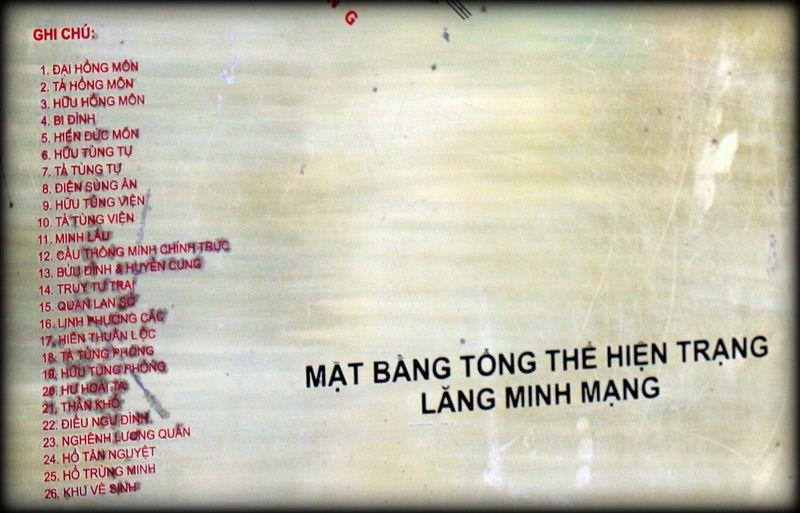 Tombeau de l'empereur Minh Mang, la grande Porte Dai Hong Mon
