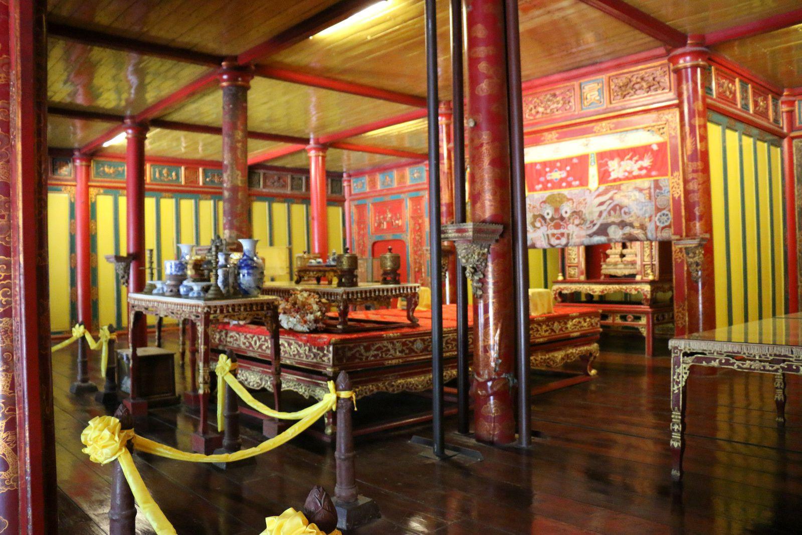 Le temple du Culte du roi, mausolée de l'empereur Minh Mạng