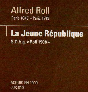 La Jeune République, tableau d'Alfred Roll