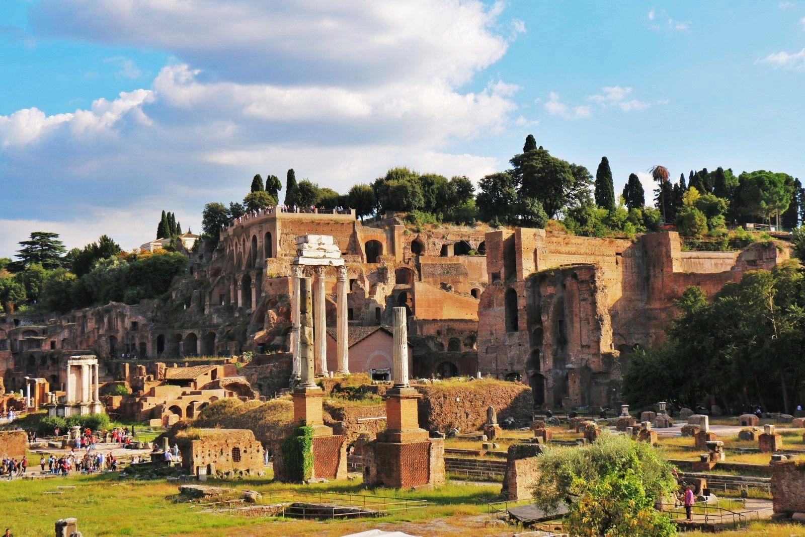 Le Forum Romain, Rome