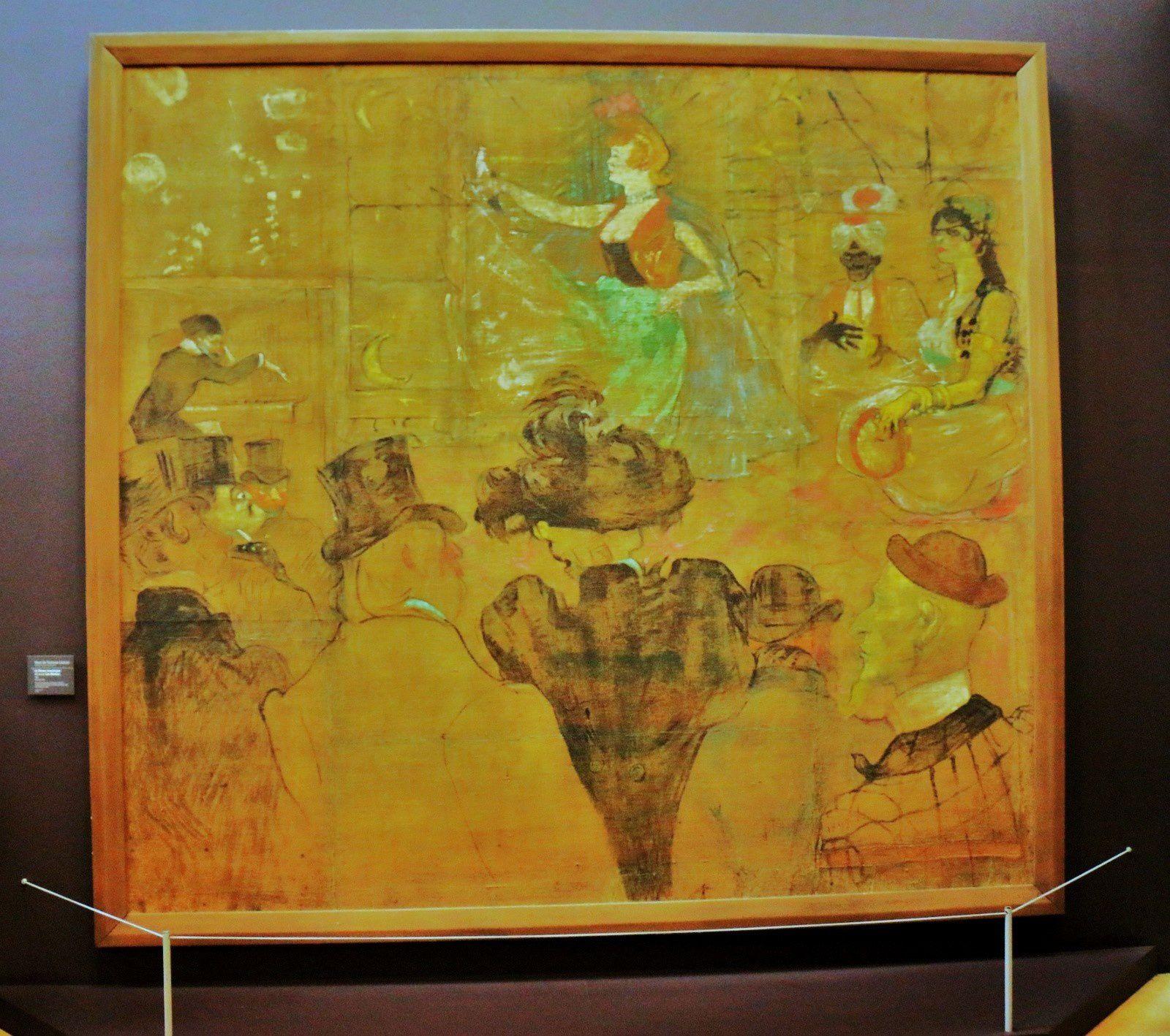La Danse mauresque (Les Almées), huile sur toile de Henri de Toulouse-Lautrec