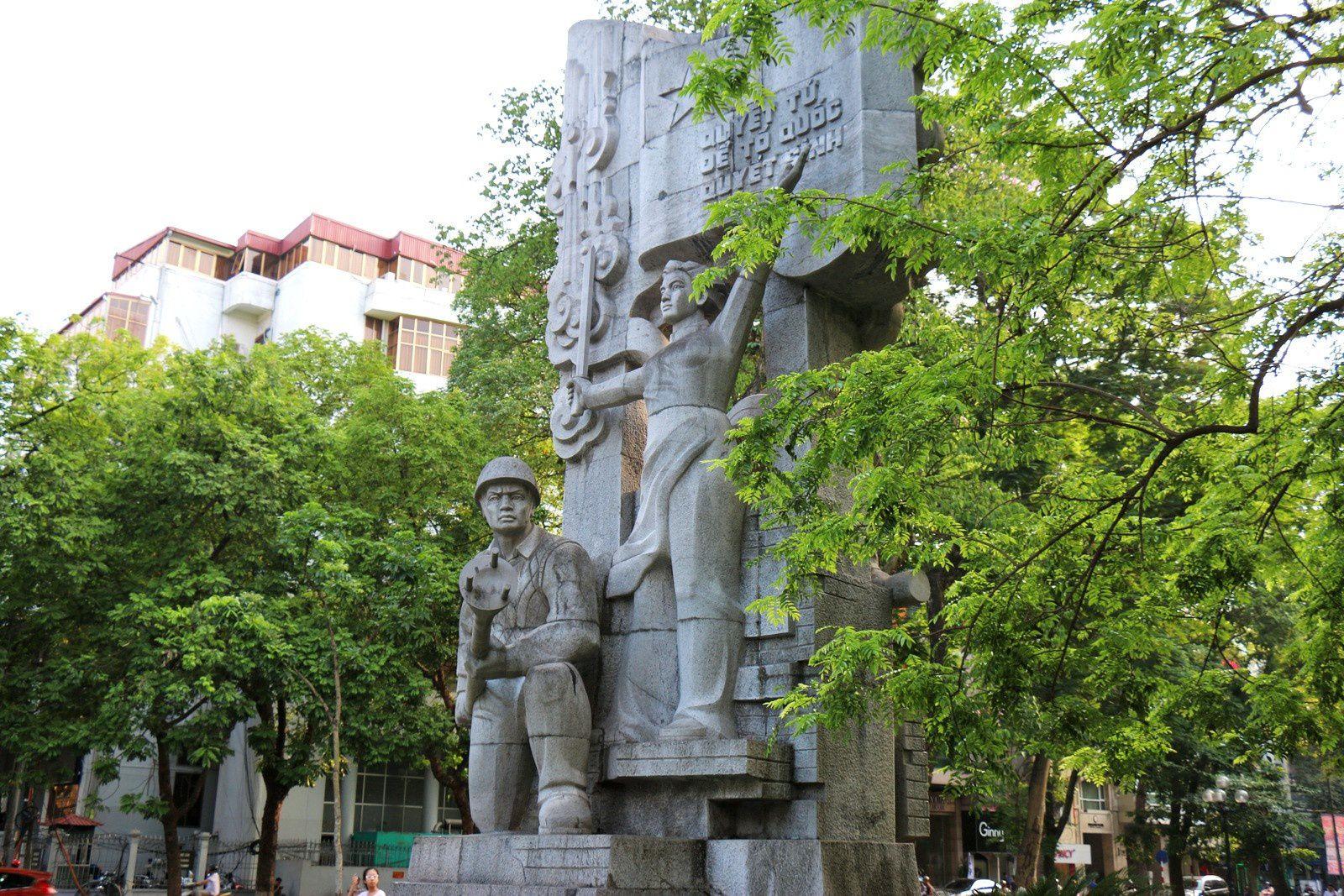 Mémorial de la Révolution communiste Hanoï 1946