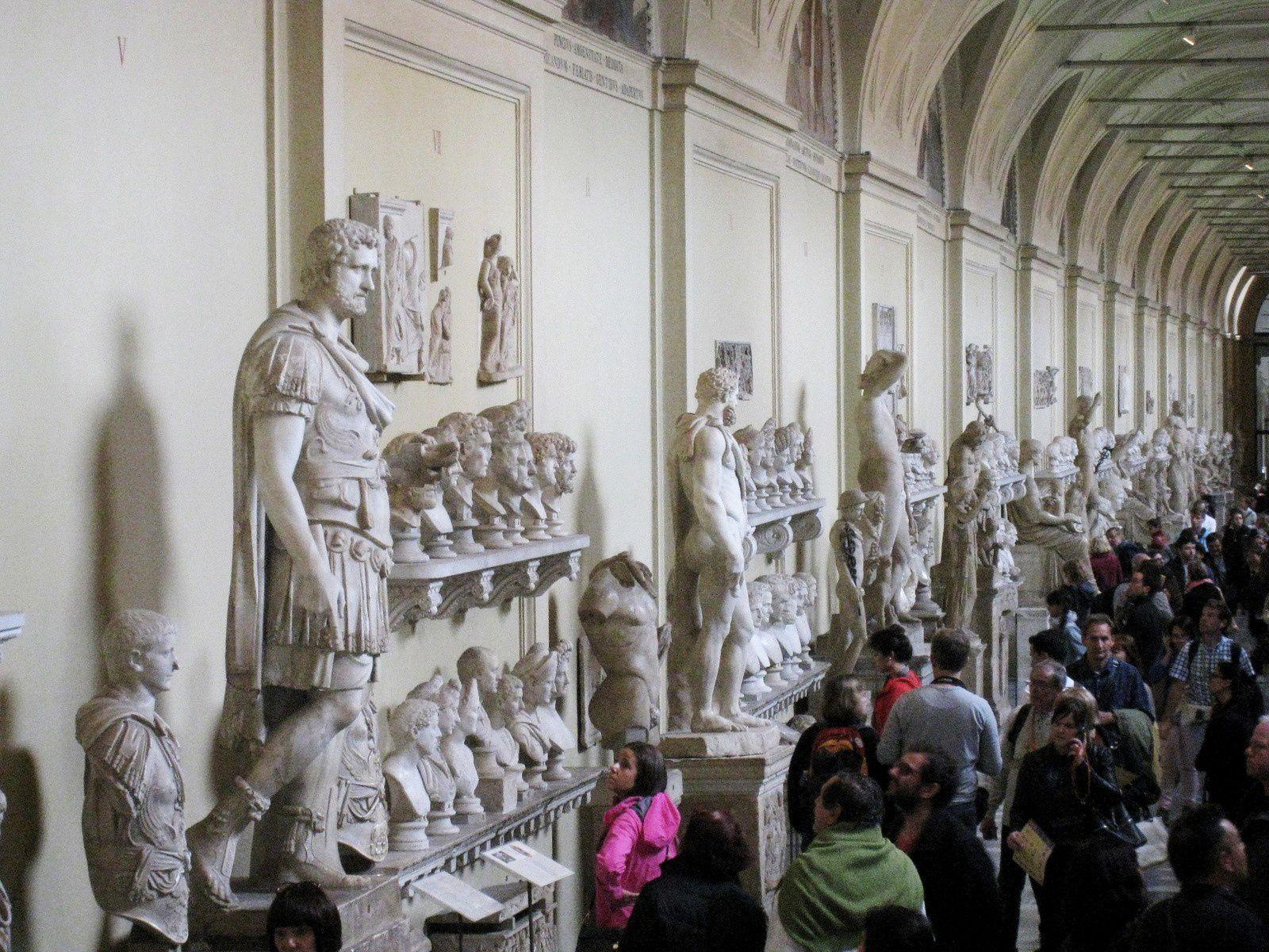 Musées du Vatican, musée Pio-Clémentin (1/2)