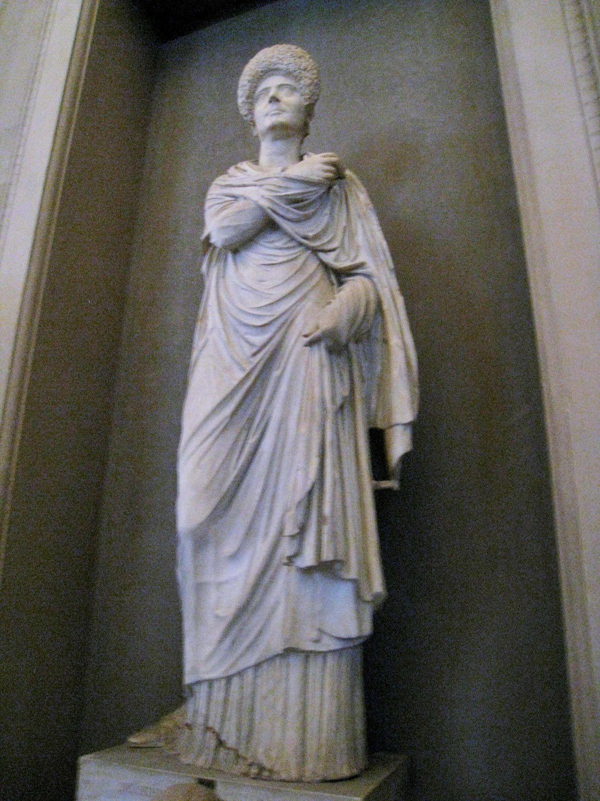 La Salle en croix grecque, musée Pio-Clémentin (1/2)