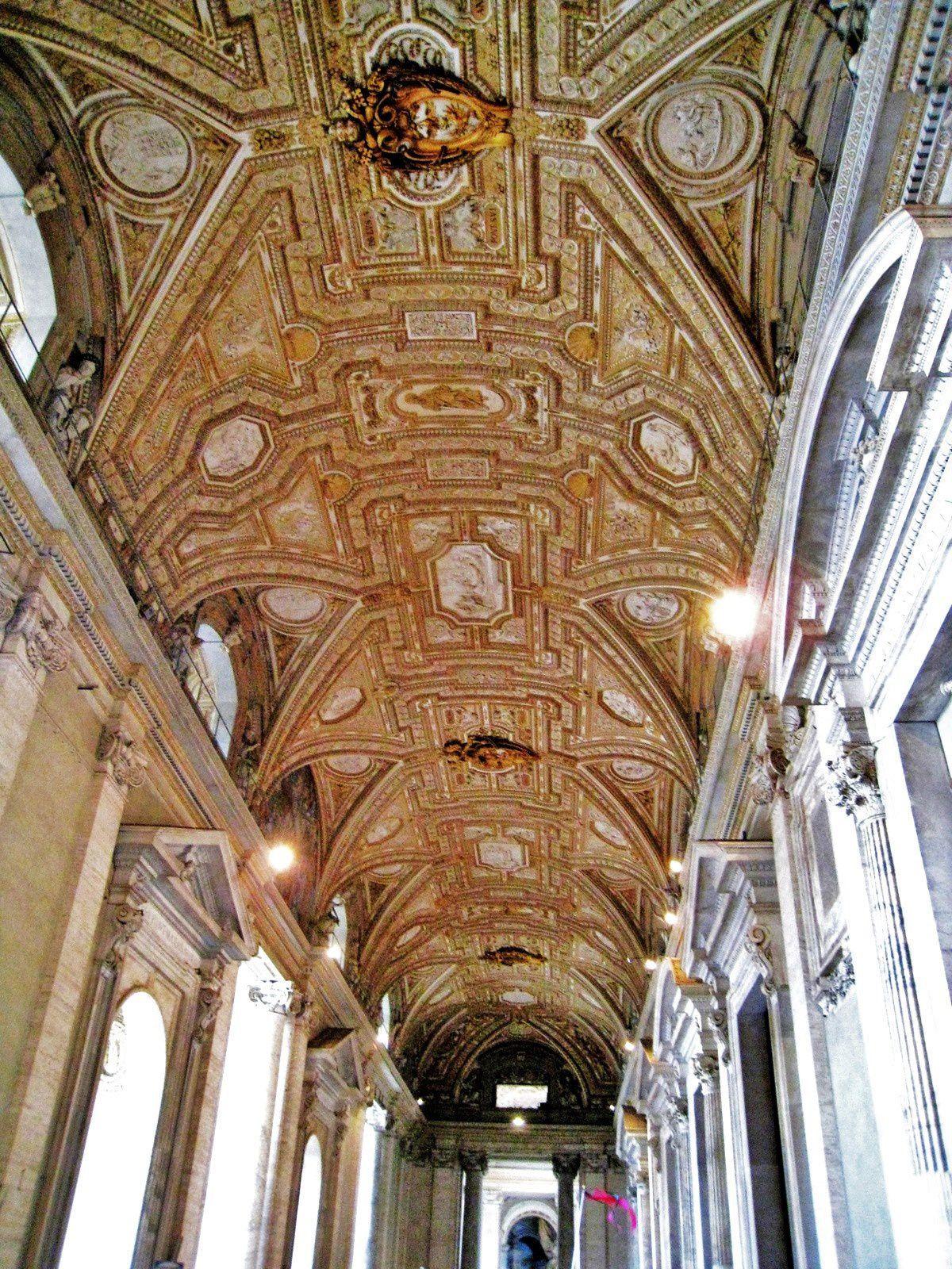 Galerie des cartes géographiques, Vatican