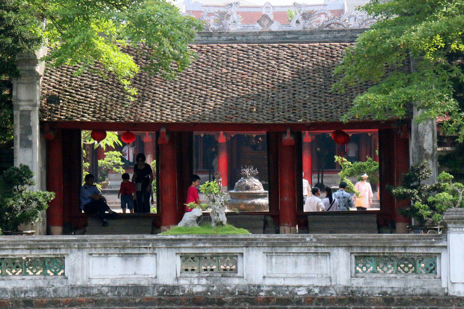 Pavillon Khuê Van Cac, temple de la littérature Van Miêu-Quôc Tu Giam