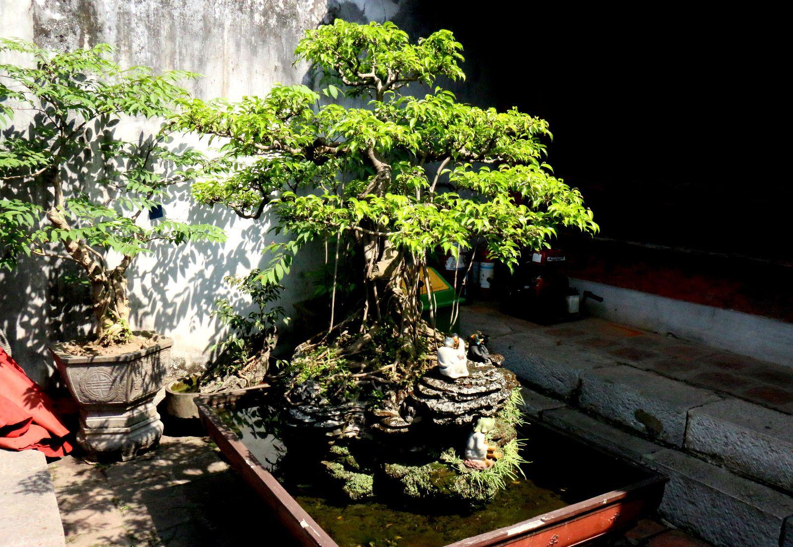 La tortue d'or, temple de la littérature Van Miêu-Quôc Tu Giam