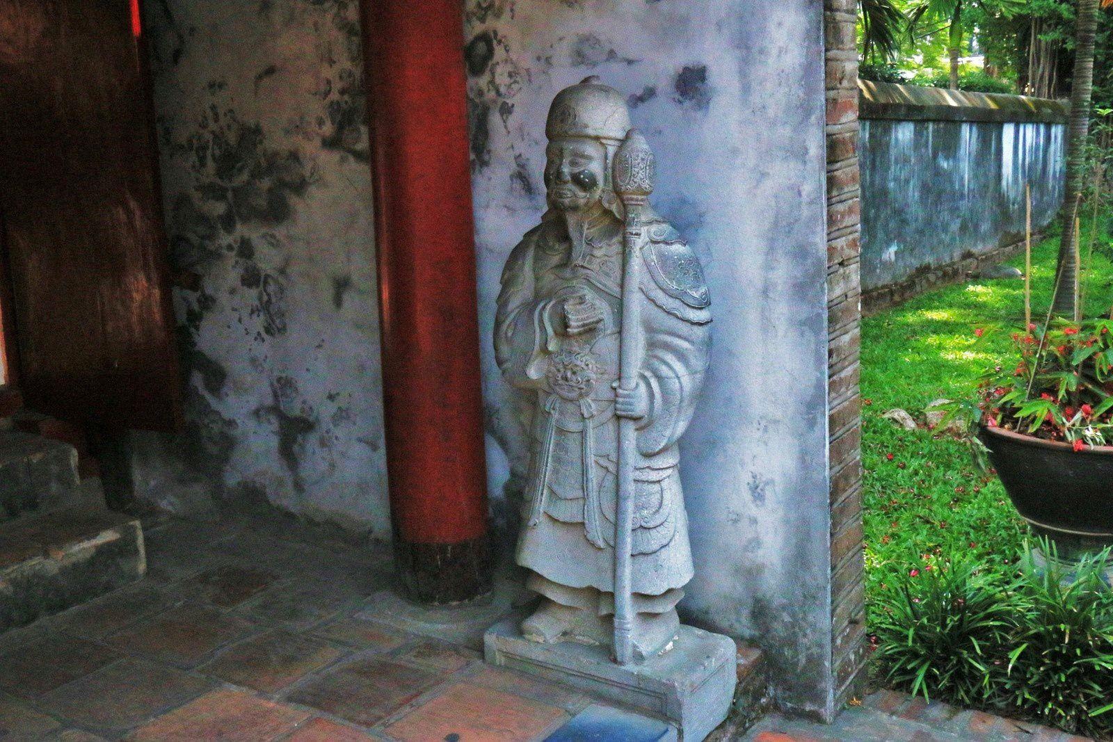 La boutique, temple de la littérature Van Miêu-Quôc Tu Giam