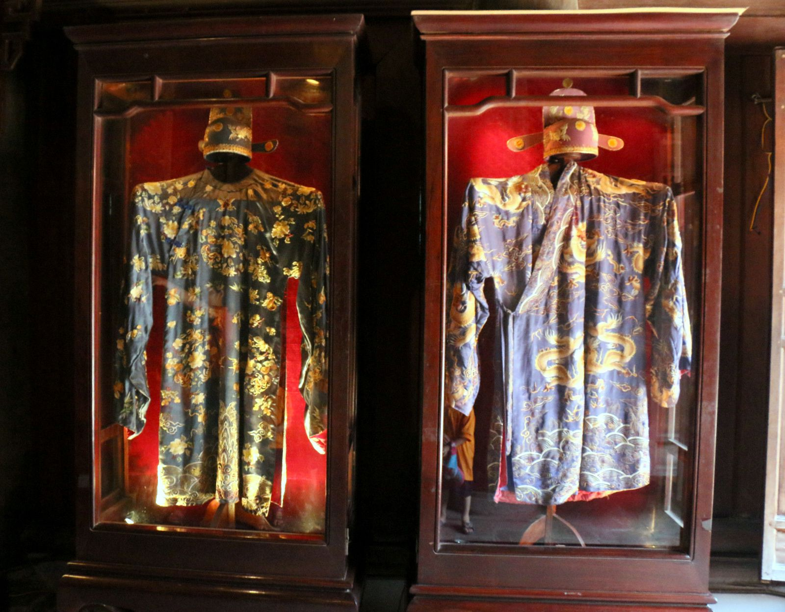 Mandarin Chu Văn An, quartier de Thái Học du temple de la Littérature