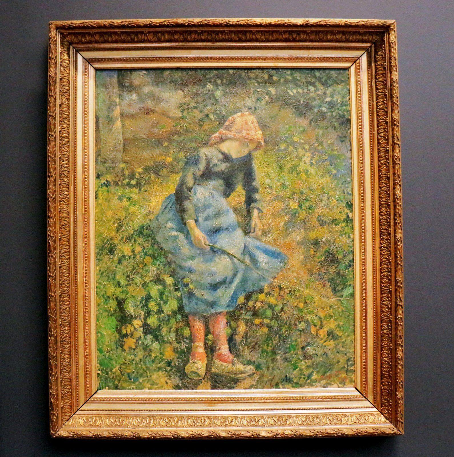 Camille Pissarro, La bergère