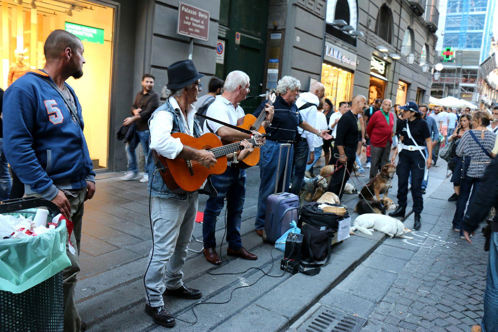 Musiciens à Naples