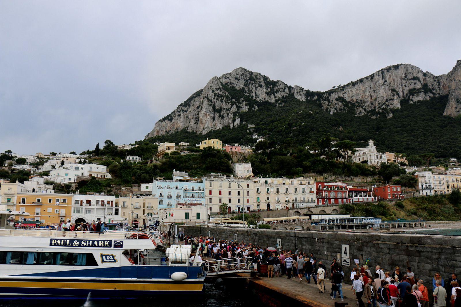Maisons et villas à Capri