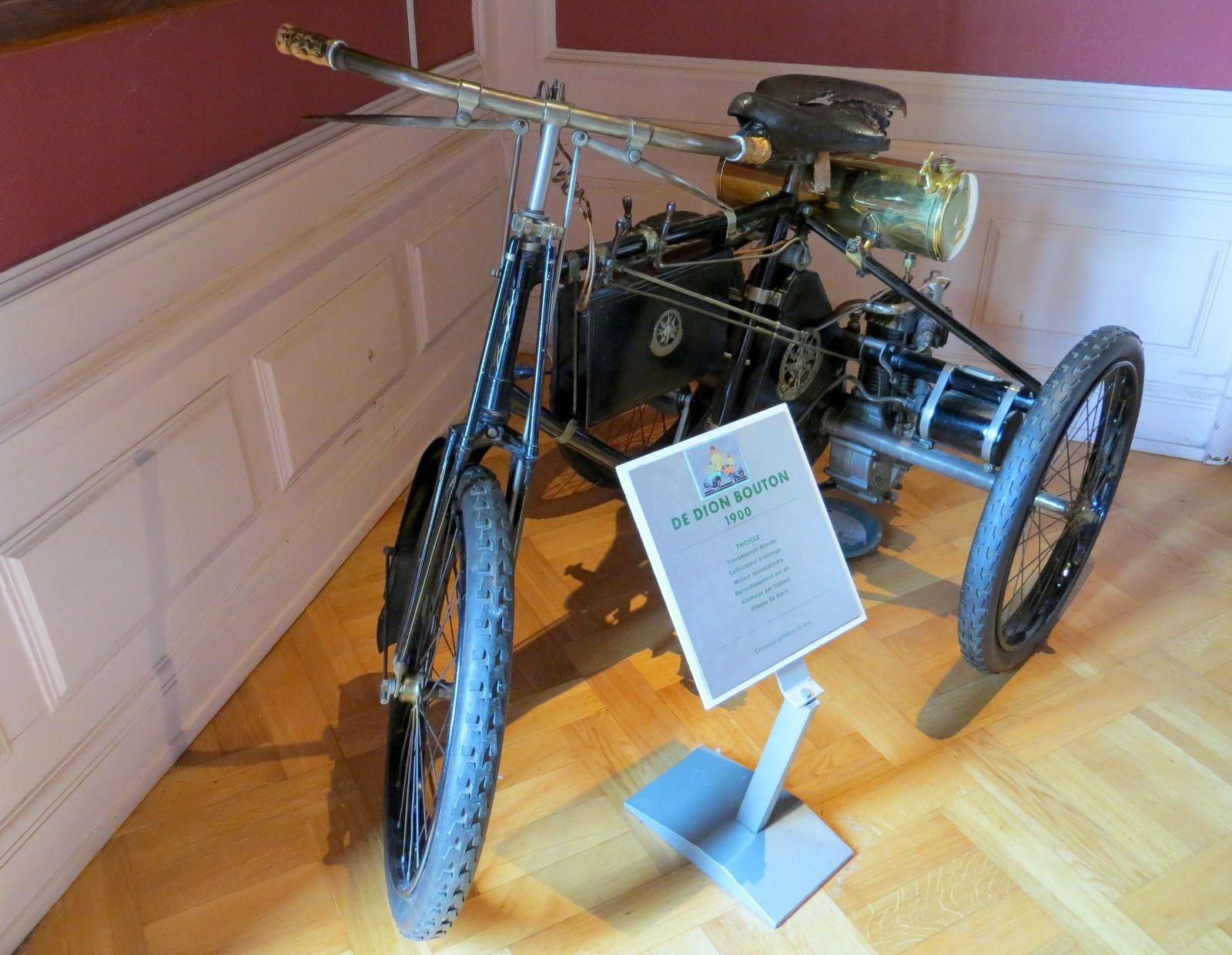 Tricycle De Dion Bouton, musée Henri Malatre