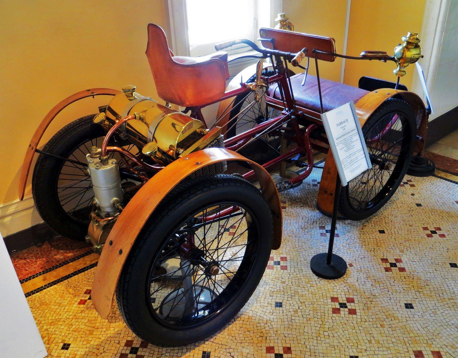 "Darracq France (1899), Quadricycle Perfecta n°2 type ""Touriste"""