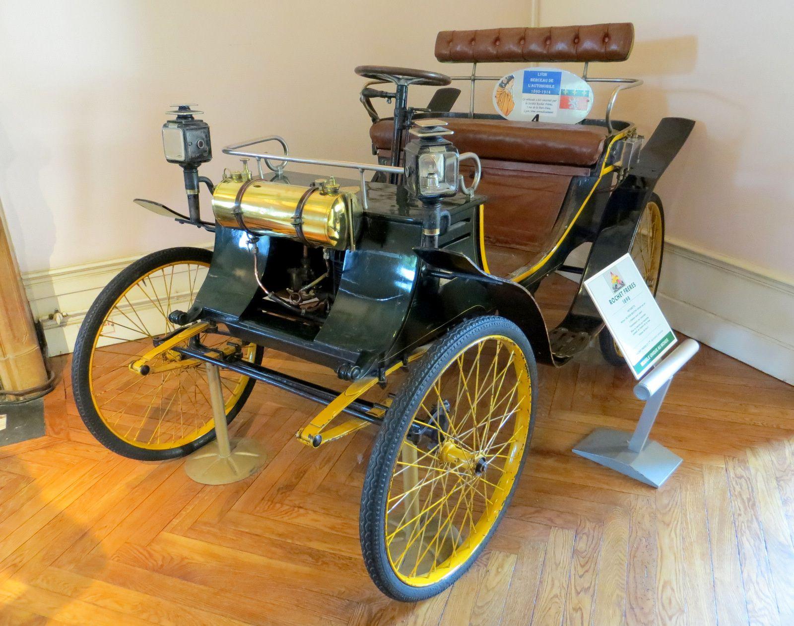 Rochet frères 1898, voiturette