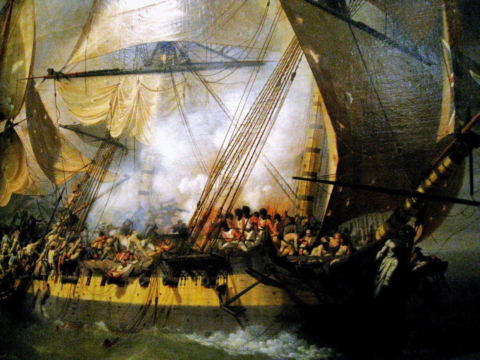 """Louis-Philippe Crépin, combat de la  """"La Bayonnaise"""" contre l """"Embuscade"""""""