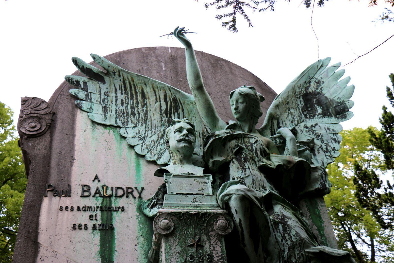 Paul Baudry, cimetière du Père Lachaise