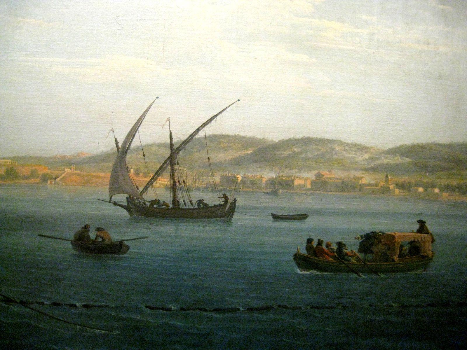 Joseph Vernet, la Madrague ou la Pêche au thon