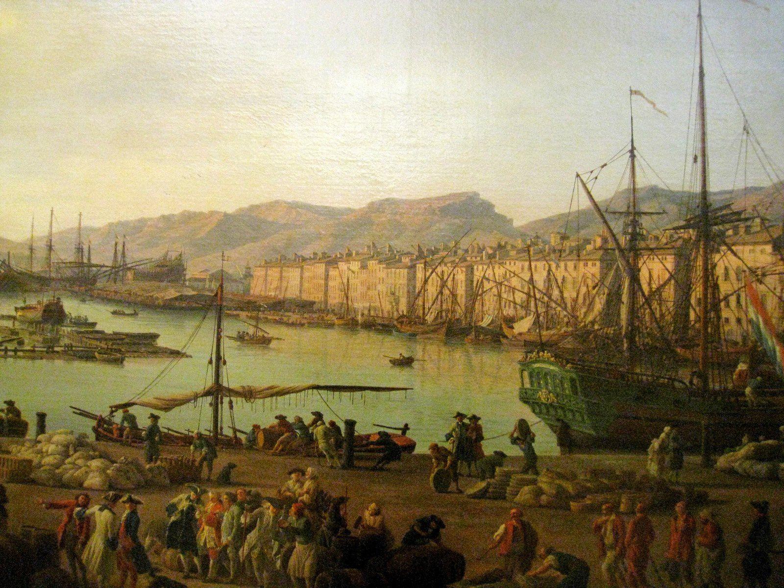 Joseph Vernet, le Port vieux de Toulon