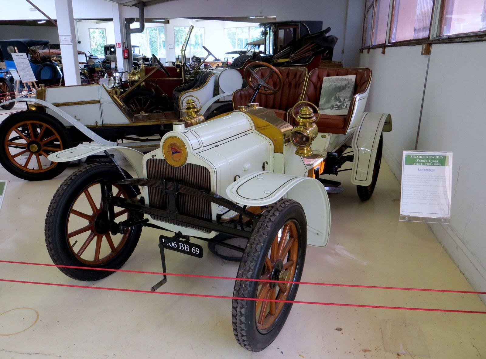 Sizaire et Naudin, voiturette sport/course type F1