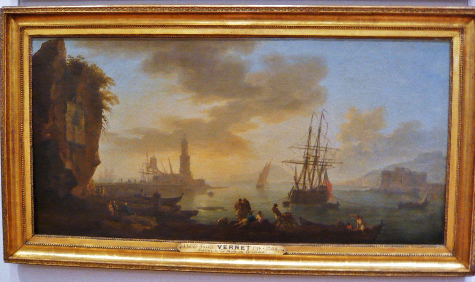 Joseph Vernet, Marine, le midi ou le calme