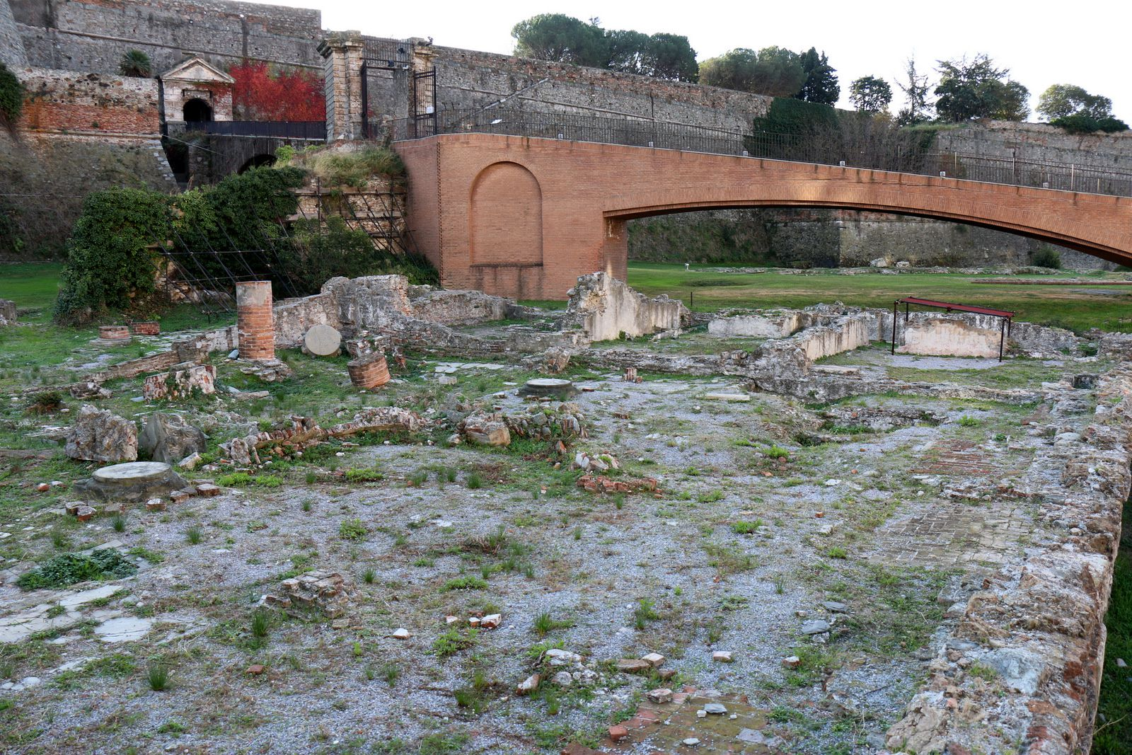 "Forteresse "" Priamar"", Savone (Italie)"
