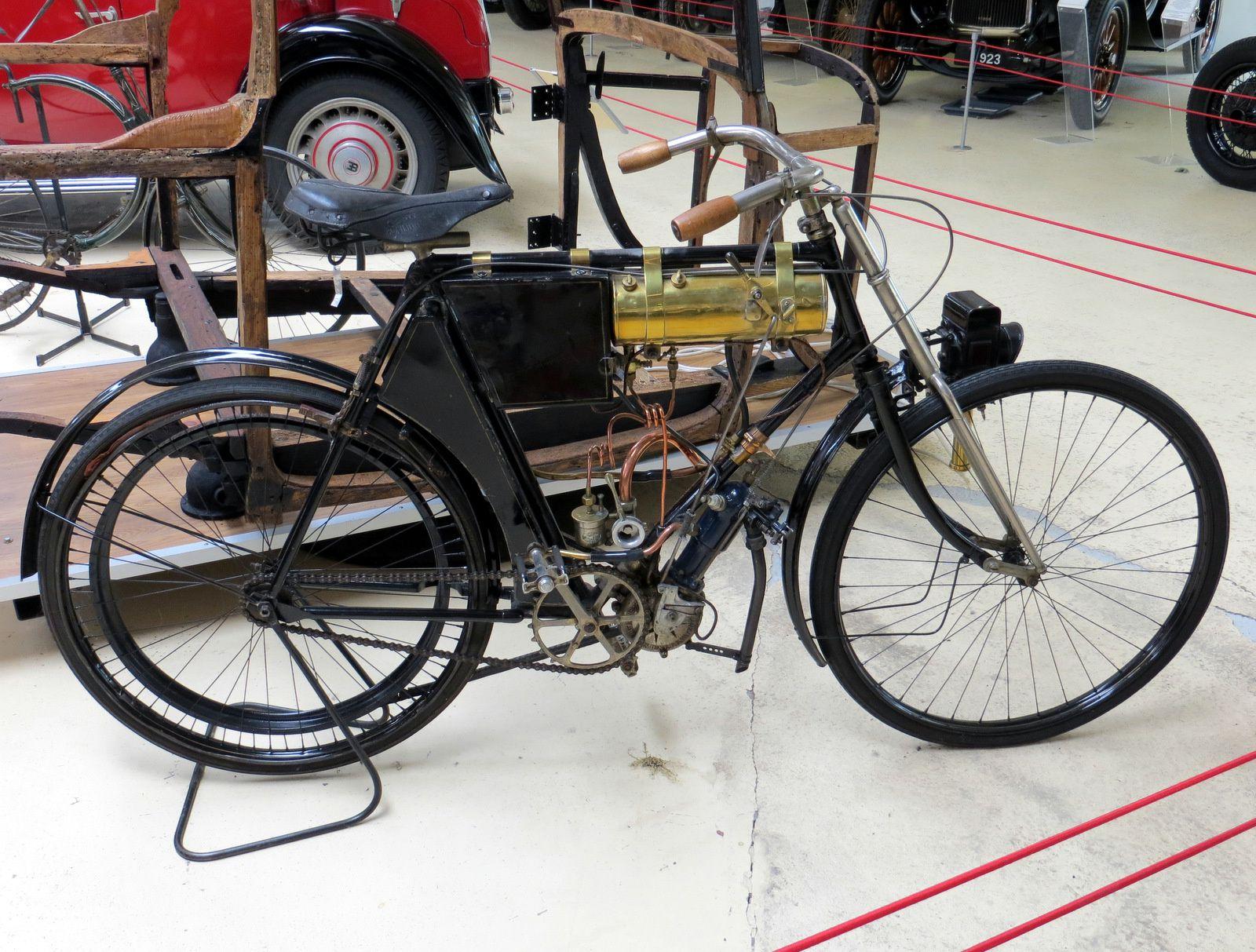 Bicyclette motorisée (1904), Herdtlé-Bruneau