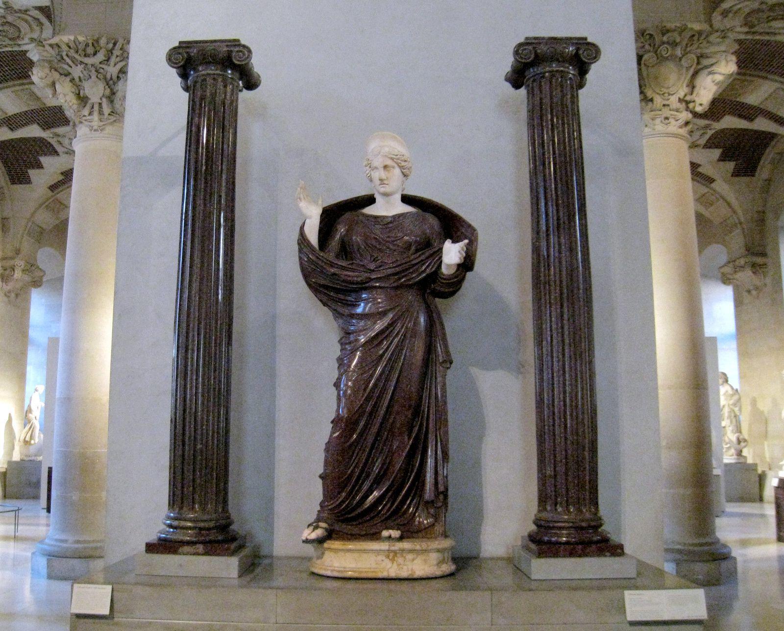 Femme en prière, collection Borghèse