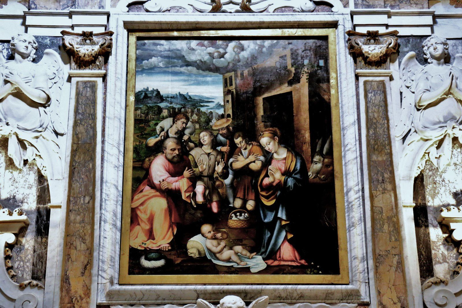 Adoration des bergers, église San Giovanni Battista à San Domenico, Savone