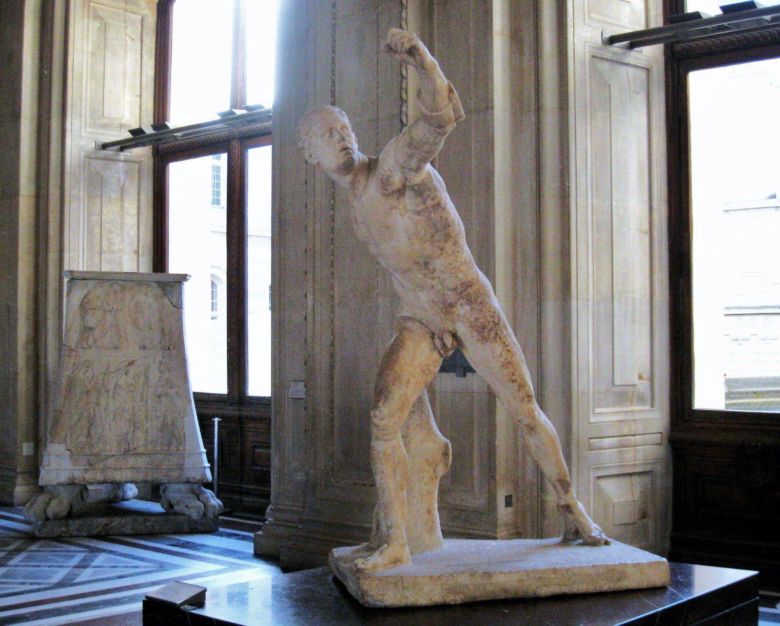 Gladiateur Borghèse, musée du Louvre